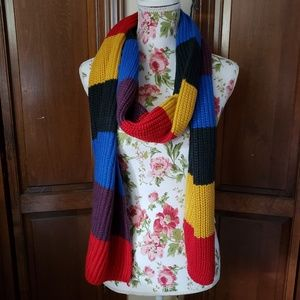Colorful primary colors scarf